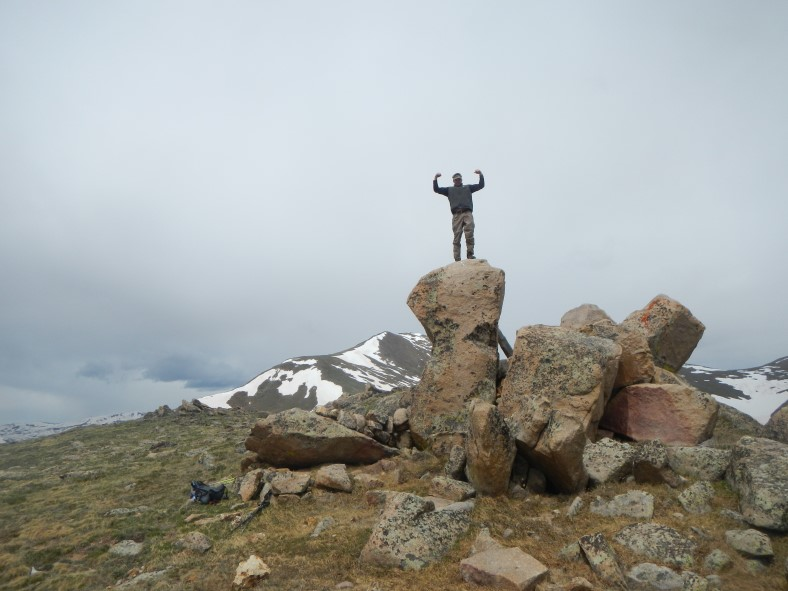 Paul on the summit!