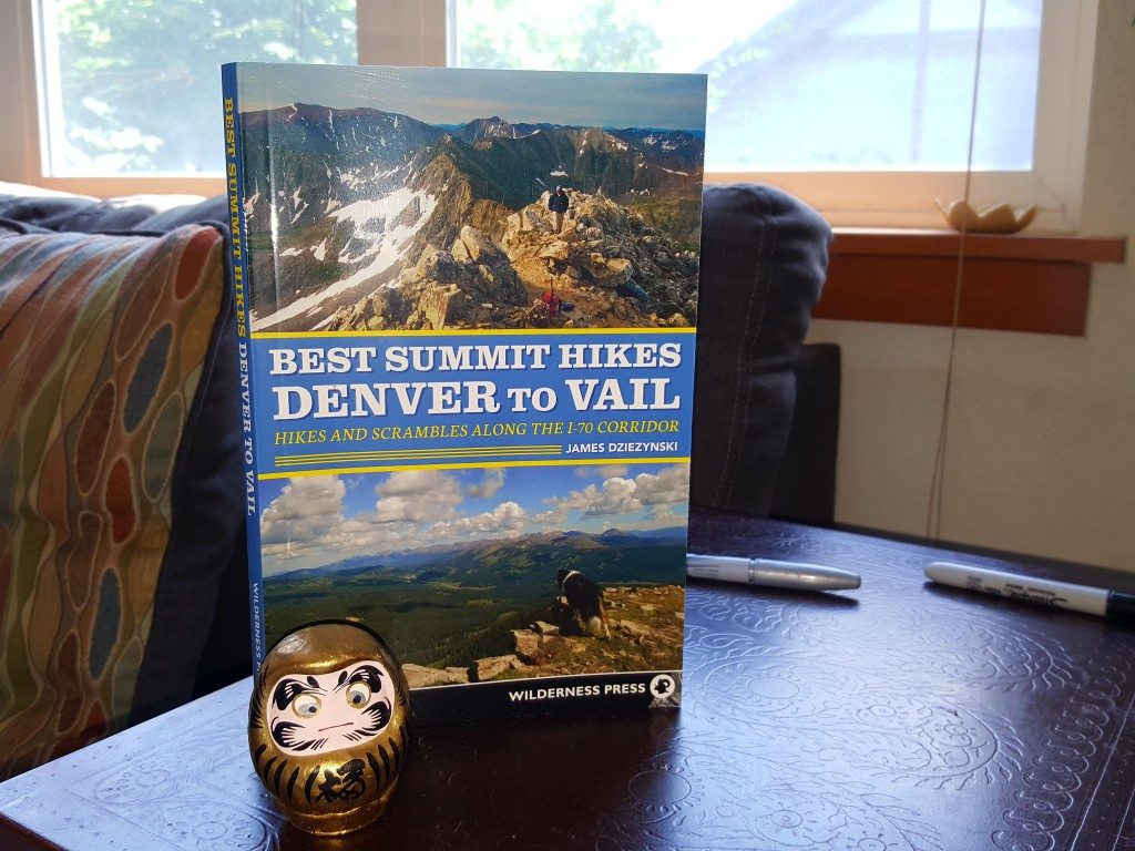 Daruma doll in Colorado. What a creep!