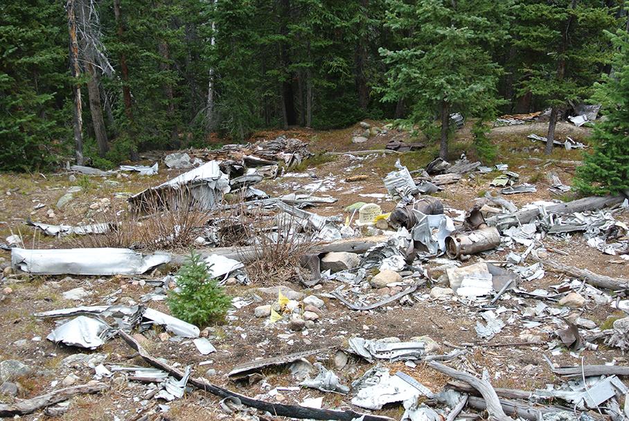 Wichita State Plane Wreck & Mount Bethel - Dry Gulch - Mountain Air