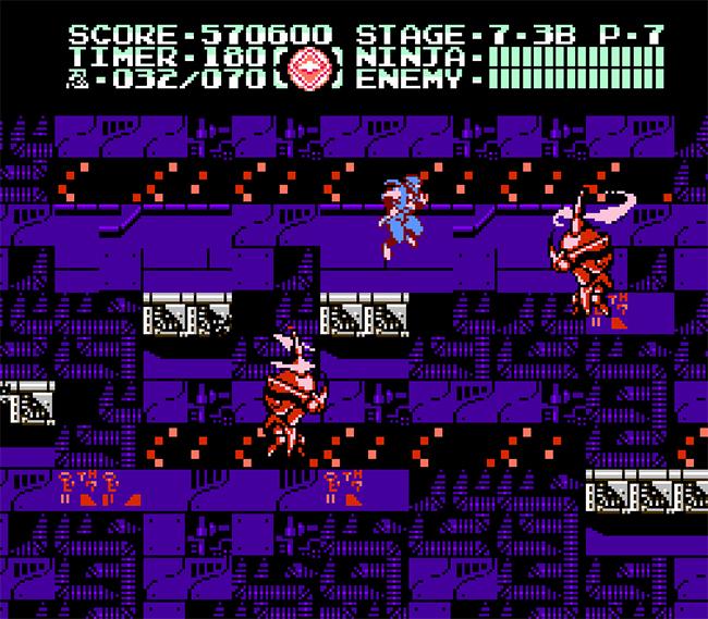 Ninja Gaiden Iii The Ancient Ship Of Doom Nes Mountain Air